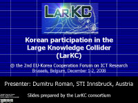 koreanparticipationinlarkc
